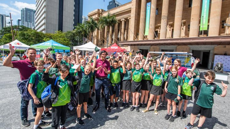 Get Ready Queensland Week launched in King George Square