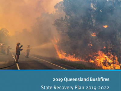 Front cover of a State Recovery Plan
